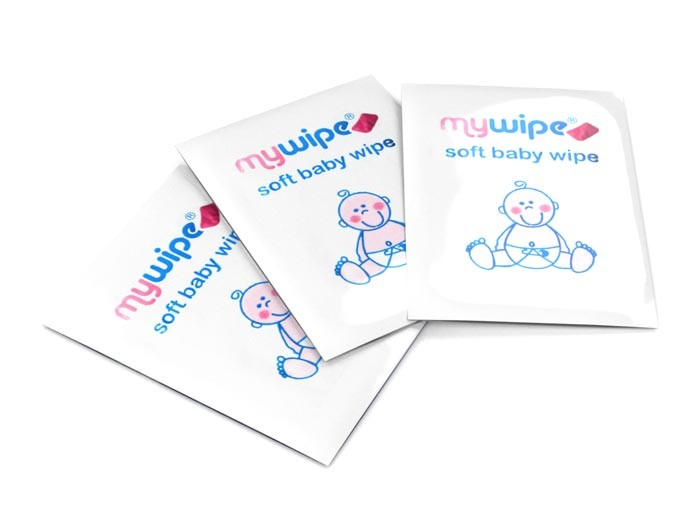Baby Wipes Sachets - Case of 1000