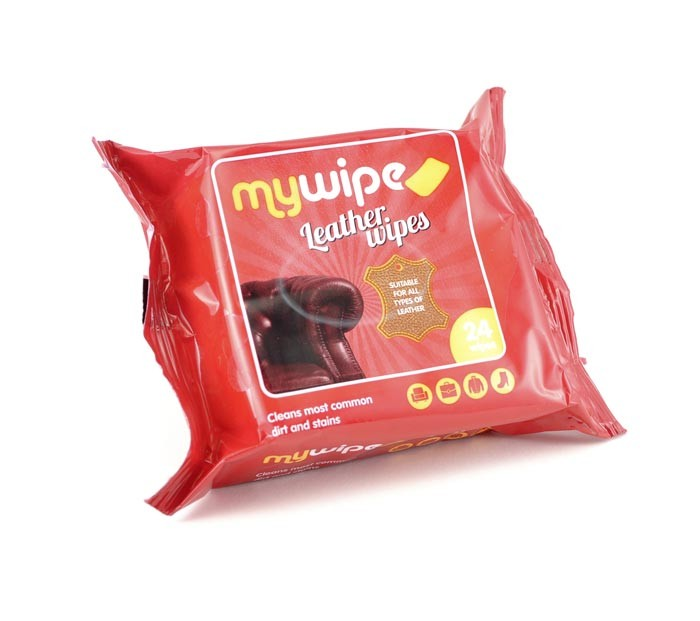 Leather Wipes Packs 24s