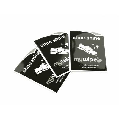 Shoe Shine Wipes - Case of 1000