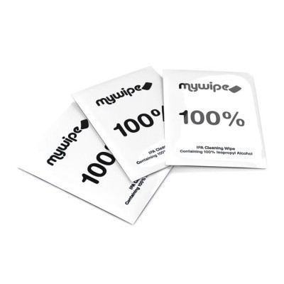 100% Alcohol Wipes Sachets - Case of 1000