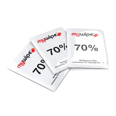 70% Alcohol Wipes Sachets - Case of 1000