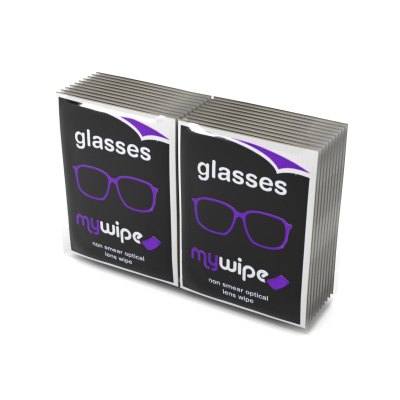 Glasses Wipes Sachets - Carton of 20