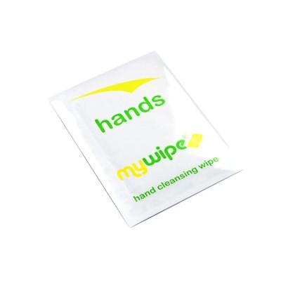 Antibacterial Hand Wipes REGULAR Sachets (Biodegradable) - Kills 99.999% of Bacteria - Case of 1000
