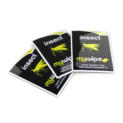 Insect Repellent Wipes Sachets - Case of 2000