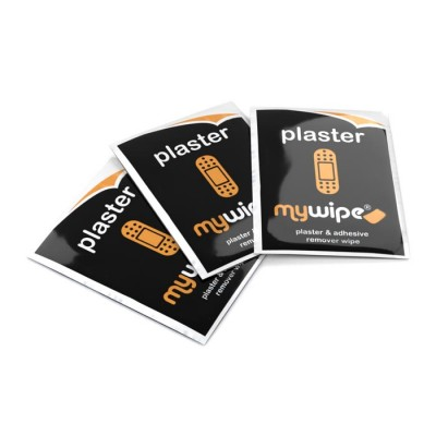 Plaster Removal Wipes Sachets - Case of 2000